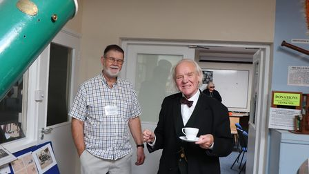 Two of the speakers of the event, David Strange and Dr Allan Chapman. Picture: Alan Green