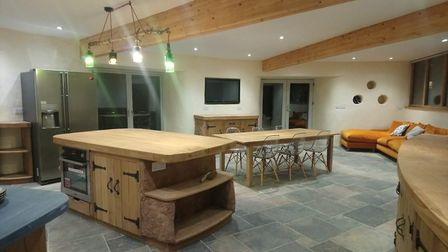 Grand Designs visited Dingle Den which was made by Kevin McCabe. Picture: Kevin McCabe