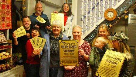 Ottery traders are excited for the launch of golden ticket Saturdays. Picture: RUUD JANSEN VENNEBOER