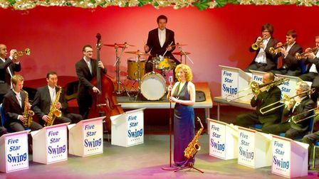 The Big Band at Christmas will be playing this November. Picture: Five Star Swing