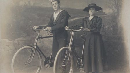 Ernest and his wife Ethel.