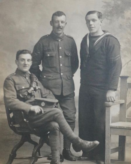 William, Richard and Ernest Channing