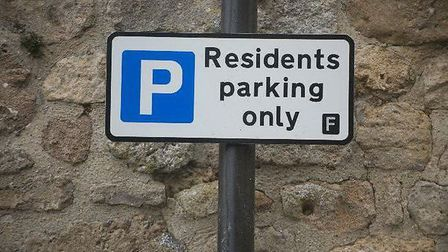 Residents parking only.