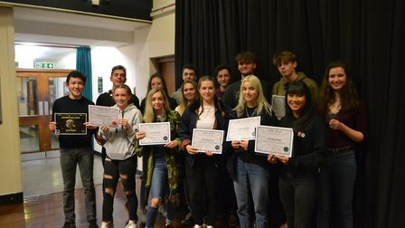 Photos of this year's winners at Sidmouth College's annual GCSE celebration evening. Picture: Charlo