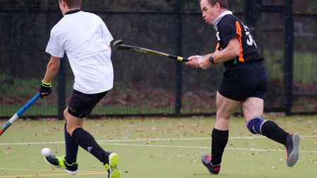 Sidmouth and Ottery mens 3rds take on the mens 4th team. Ref shsp 48 18TI 5391. Picture: Terry Ife