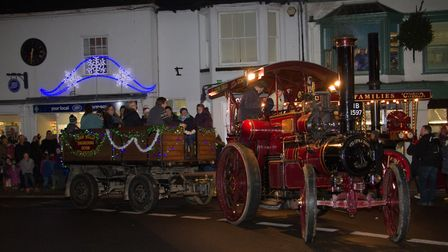 Ottery christmas lights switch on. Ref sho 49-16TI 3073. Picture: Terry Ife