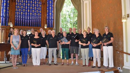 The Cantinlena Choir. Picture: Susan Allen