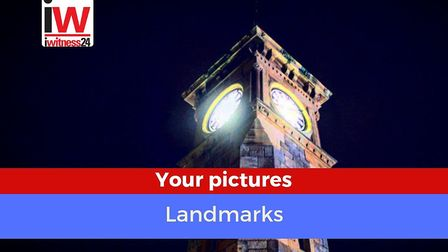 East Devon landmarks photos challenge - from our readers. Picture: Natasha Inglis - Exmouth clock t