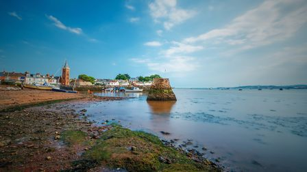 East Devon is never short of inspirational photographic opportunities. Lympstone Harbour on the bank