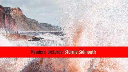 Readers' photos - stormy Sidmouth. Picture: Ben Powell