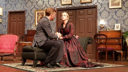 Gaslight, one of the plays performed at the Manor Pavilion Theatre this summer. Picture: Manor Pavil