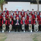 Ottery St Mary Silver Band. Picture: Keith Bearne.