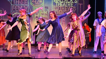 42nd Street production at the Manor Pavilion by Sidmouth Musical Theatre. Picture: BRIAN REES