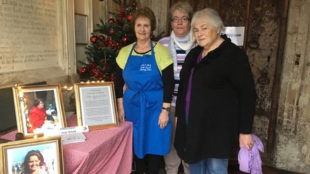 Coldharbour Farm created a tree in memory of Phyllis Baxter. Picture: Clarissa Place