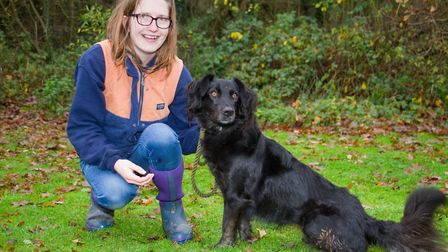 ARC staff with Tilly. Ref shs 49 18TI 6332. Picture: Terry Ife