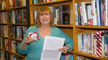 Lyn Darrant won second place in the short story writing competition. Ref shs 03 19TI 8517. Picture: