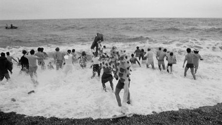 shs Boxing Day Swim 1987. Picture: Sidmouth Herald archives