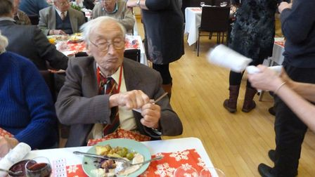 The Sidmouth Community Christmas Day Lunch. Picture: Andie Milne