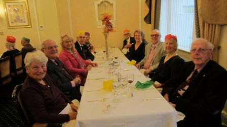 Members enjoy the last ever annual Probus lunch.Picture: Simon Card