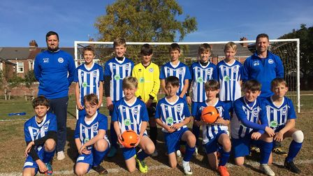 Ottery ST Mary Under-13s head into Saturday's meeting with Brixington Blues seeking a ninth successi