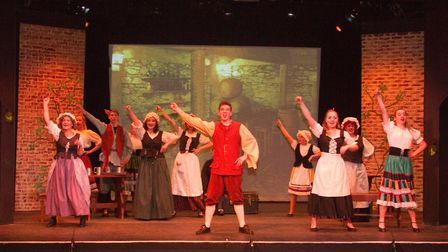 SADS performance of Treasure Island. Ref shs 01 19TI 7629. Picture: Terry Ife