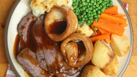 Traditional British Sunday lunch. Picture: Think Stock