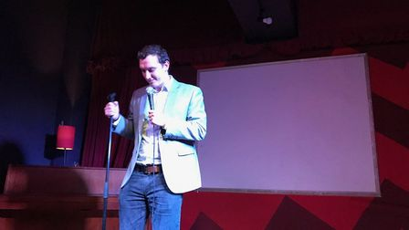 Stand-up comic Fitz to host an evening of laughter in Sidmouth. Picture: Lise Richardson