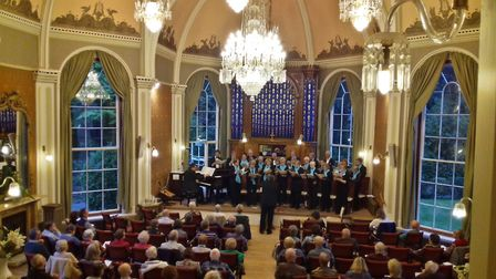 The Exeter Singers. Picture: John McGregor