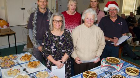 Judges at the Bake Off competition at Lymebourne and Arcot Community Centre. Ref shs 51 18TI 6951. P