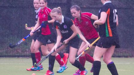SOHC ladies 2nds in a Devon Cup tie. Ref shsp 51 18TI 6716. Picture: Terry Ife
