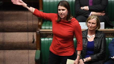 Liberal Democrat leader Jo Swinson during the debate on the motion for a general election. Photograp