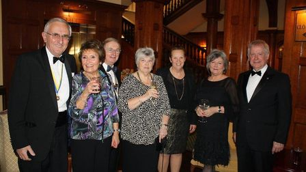 Members of the Sidmouth Rotary Club at the President's Dinner. Picture: Sidmouth Rotary Club