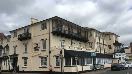 The family-run Bedford Hotel in Sidmouth.