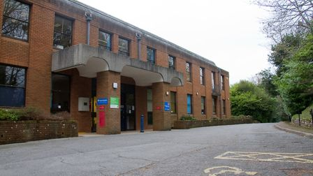 East Devon District Council offices at The Knowle. Ref shs 03 19TI 8509. Picture: Terry Ife