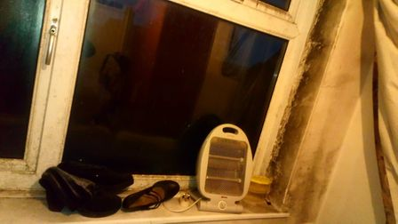 Pictures from inside Kirsty Needham's flat. Picture: Kirsty Needham