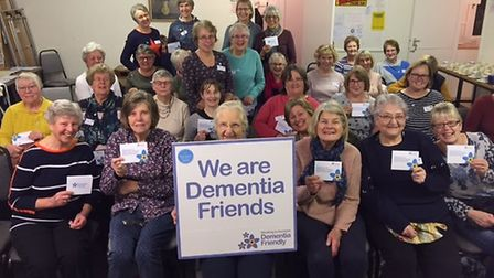 More than 50 members of Ottery WI have become dementia friends. Picture: Honiton Dementia Alliance
