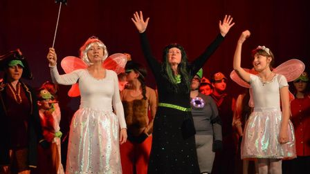 The cast of Froggy Froggy enjoyed great audience reactions. Picture: Catriona Paton