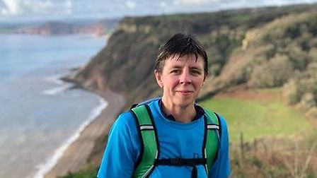 Jennifer Bentley, who is running the Dartmoor Trail Running Challenge Marathon to raise funds for th