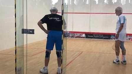 Action from the Devon Closed Racketball and Masters Racketball events held at Devon & Exeter Squash