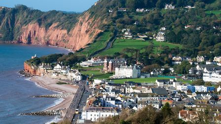 Sidmouth as seen from Salcombe Hill. Picture: Alex Walton Photography