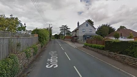 Sidford Road, between Manstone Lane and Primley Road. Picture: Google.