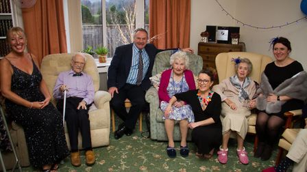Winters Ball at Ridgeway Care Home. Ref shs 06 19TI 9013. Picture: Terry Ife