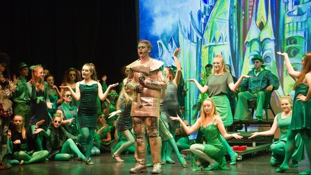 Sidmouth Youth Theatre put on a production of Wiz. shs 06 19TI 9427. Picture: Terry Ife