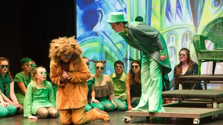 Sidmouth Youth Theatre put on a production of Wiz. shs 06 19TI 9420. Picture: Terry Ife