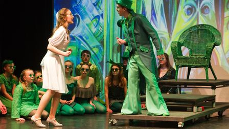Sidmouth Youth Theatre put on a production of Wiz. shs 06 19TI 9415. Picture: Terry Ife