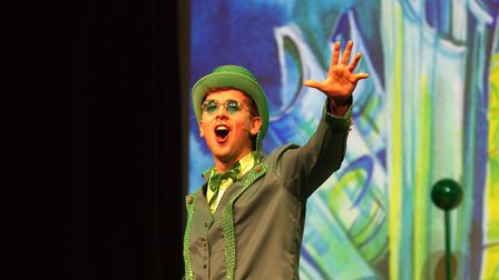 Sidmouth Youth Theatre put on a production of Wiz. shs 06 19TI 9404. Picture: Terry Ife