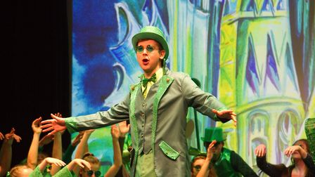 Sidmouth Youth Theatre put on a production of Wiz. shs 06 19TI 9397. Picture: Terry Ife