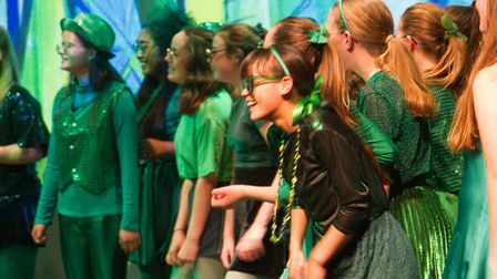 Sidmouth Youth Theatre put on a production of Wiz. shs 06 19TI 9386. Picture: Terry Ife
