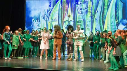 Sidmouth Youth Theatre put on a production of Wiz. shs 06 19TI 9385. Picture: Terry Ife