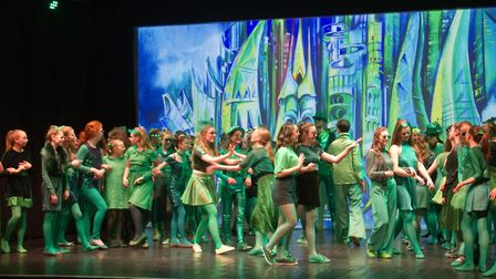 Sidmouth Youth Theatre put on a production of Wiz. shs 06 19TI 9379. Picture: Terry Ife
